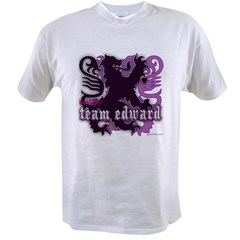 Team Edward Royal Purple Cres Value T-shirt