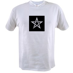 Wiccan Pentagram Value T-shirt