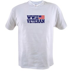 WWII VETERAN Value T-shirt