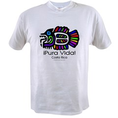 Pura Vida Fish Value T-shirt