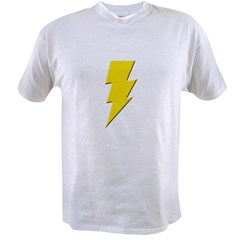 Yellow Lightning Value T-shirt