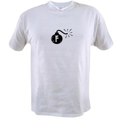 F Bomb Value T-shirt