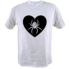 Spider Heart Value T-shirt