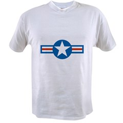 usaf_roundel_air_force copy Value T-shirt