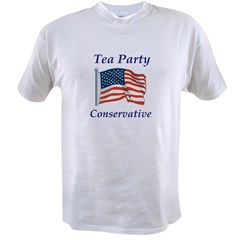Tea Party Conservative Value T-shirt