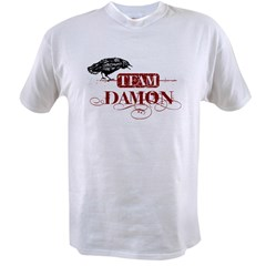 Vampire Diaries Team Damon red Value T-shirt