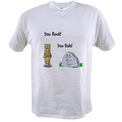 You Rock You Rule Value T-shirt