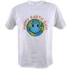 Happy Earth Day Value T-shirt