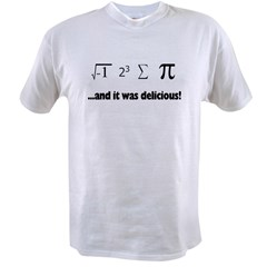 I Ate Sum Pi Value T-shirt