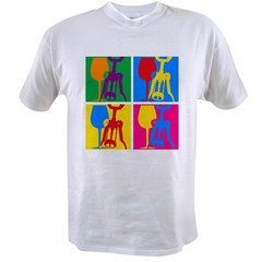 Pop Art Wine Value T-shirt