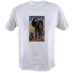 Vintage Circus Elephant Value T-shirt