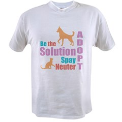 New Be The Solution Value T-shirt