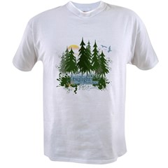Twilight Forks WA Value T-shirt