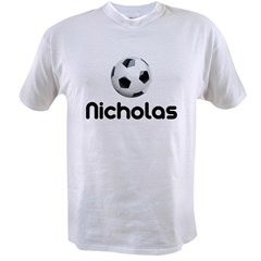 Soccer Nicholas Value T-shirt