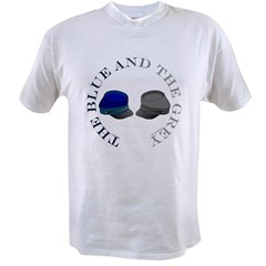 Blue and Grey Value T-shirt