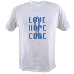 Autism Awareness (lhc) Value T-shirt