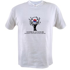 Korea to Home Value T-shirt