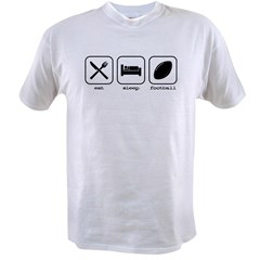 Eat, sleep, football Value T-shirt