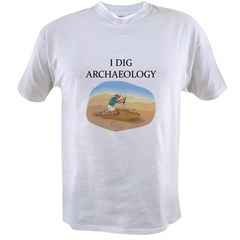 funny archaeology Value T-shirt