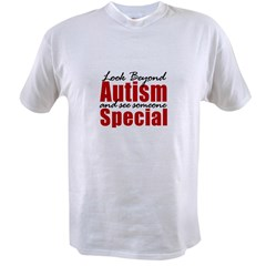 Look Beyond Autism Value T-shirt