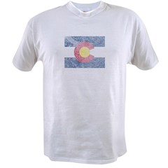 Vintage Colorado Flag Value T-shirt