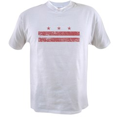 Flag_of_Washington DCpng Value T-shirt
