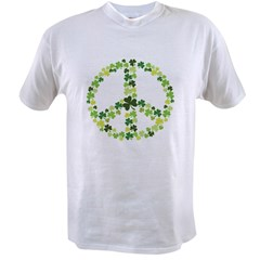 Shamrock Peace Value T-shirt