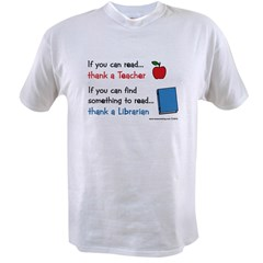 Teacher...Librarian Value T-shirt
