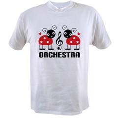 Ladybug Orchestra Music Value T-shirt