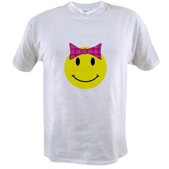 Happy Face Girl Value T-shirt