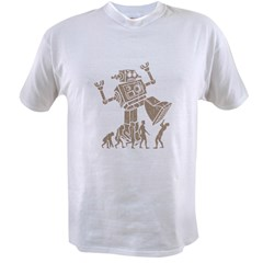 2-robotV2 Value T-shirt