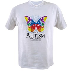 Autism Butterfly Value T-shirt