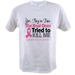 Breast Cancer Fake Value T-shirt