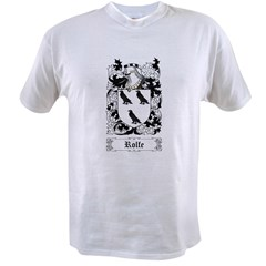 Rolfe Value T-shirt