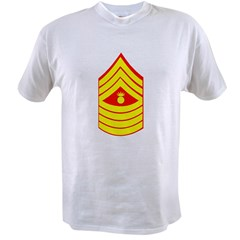 USMC Retired <BR>Master Gunnery Sergeant Value T-shirt