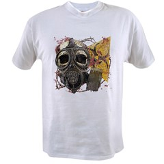 Biohazard Skull in Mask Value T-shirt