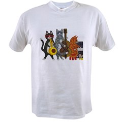 Jazz Cats Value T-shirt