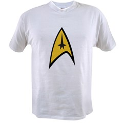 Starfleet Command Value T-shirt