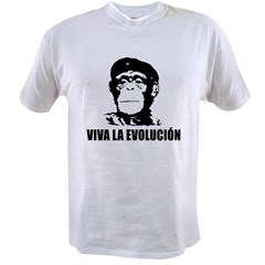Atheism Evolution Value T-shirt