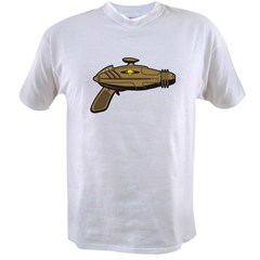 Brown Ray Gun Value T-shirt