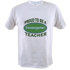 proud kindergarten green Value T-shirt
