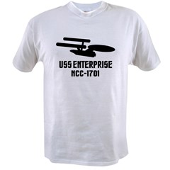 USS Enterprise Value T-shirt