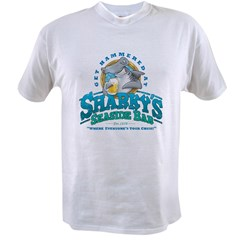 Sharky's Seaside Bar Value T-shirt