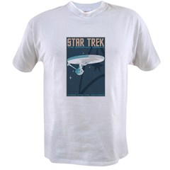 Retro Star Trek: TOS Poster Value T-shirt
