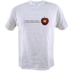 Autism Teacher Value T-shirt