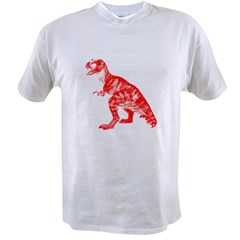 Red Dino Value T-shirt