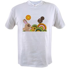 """Woodland Animals"" Value T-shirt"