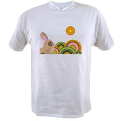 """Woodland Bunny"" Value T-shirt"