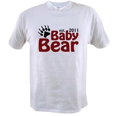 Baby Bear Est 2011 Value T-shirt