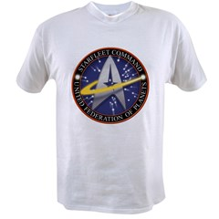 Star Fleet Command 3D Value T-shirt